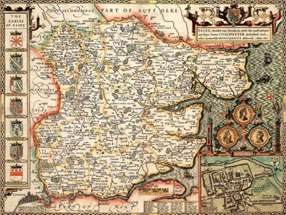 Ancient Essex Maps On View At Rayleigh Museum News Leigh